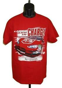 New Dodge Charger Motorsports Racing Adult Mens Sizes M-L-XL Red T-Shirt