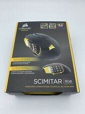 Corsair Scimitar RGB MMO Gaming Mouse - 12000 dpi Wired 17 Buttons
