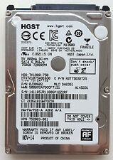 ORIGINALE HP 750gb-7200u/min HGST HPN/SPS: 752863-001, 633252-001
