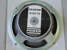 "Celestion G12T-75 12"" 16 OHM MADE IN ENGLAND"