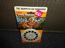 The Muppets go Hawaiian 1980  sealed  View Master Pack Reels  MOC