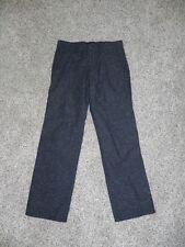 American Eagle Pants Slim Straight Mens 28 x 27 Black Multi-color NWOT c-details