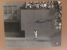 """Willie Mays Signed 8x10 Photo """"The Catch"""" Autographed Say Hey Authentic Giants"""