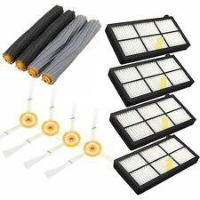 12Pcs Extractor Brush&Filter Kit for iRobot Roomba 800 Series 870 880 Cleaner