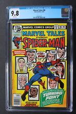 Marvel Tales #98 Death GWEN STACY GREEN GOBLIN Amazing Spider-Man 121 CGC 9.8