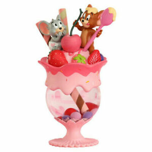 Soap Studio Tom And Jery Strawberry Parfait Snow Globe Painted Model Statue New
