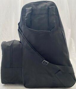 Stiefeltasche Reitstiefeltasche Tasche mit Schultergurt