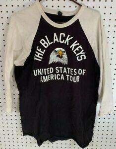 The Black Keys baseball T-shirt United States of America Tour large L