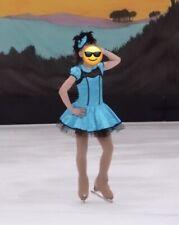 Weissman Child Intermediate (size 7/8) Skating Dance Dress Retro