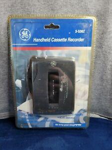 Vintage GE Handheld Cassette Recorder Player Variable Speed 3-5362