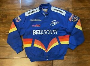 Joe Nemechek #42 Bell South Racing Jacket Mens Size Medium NASCAR 50th Ann 1998