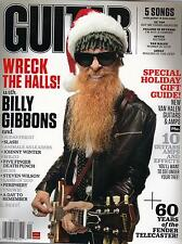 1/12 GUITAR WORLD magazine  ZZ TOP cover  Wilco  Johnny Winter