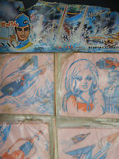 1960's vintage THUNDERBIRDS Japanese store display Gerry Anderson Japan RARE old