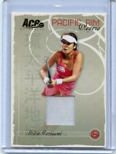 2006 ACE AUTHENTIC PACIFIC RIM PLAYERS AKIKO MORIGAMI MATCH WORN JERSEY PR-6