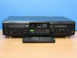 Sony MXD-D1 CD/MD Player Double Deck Working tested Used Good from Japan