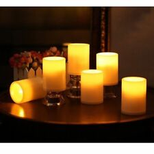 6 × Flameless LED Candle Flickering Tea Light Battery Wedding Party Home Candles