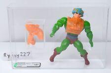 MOTU, Man-At-Arms AFA U80 graded, Masters of the Universe, He-Man, figure