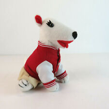 "Target Bulleye ""Lettermans Jacket Dog"" 1774/4000 Plush Terrier"