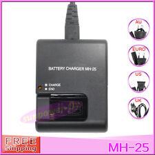 MH-25 EN-EL15 ENEL15 Camera Battery Charger For Nikon D610 D600 V1 D7100 D800