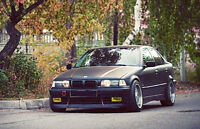 For BMW E36 3-Series Front Bumper Chin Spoiler Lip Sport Valance Splitter CL-