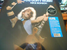 Mick Ronson – Play Don't Worry Drastic Plastic DPRLP 84 2017 180g NEW