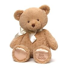 Gund My First Teddy Bear Baby Stuffed Animal, Tan,18 inches