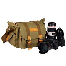 TARION Canvas Camera Case Shoulder Bag Backpack for Canon Nikon Sony SLR DSLR
