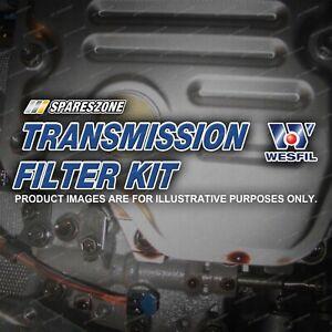 Wesfil Transmission Filter Kit for Citroen C4 C5 C6 1.4 1.6 1.8 2.0 2.2 2.7 3.0