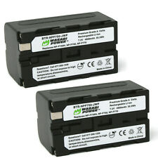 Wasabi Power Battery for Sony NP-F750 (2-Pack)