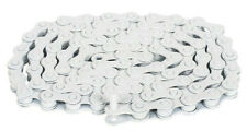 "RANT MAX 410 BMX BICYCLE CHAIN 1/8"" + 1/2 LINK SHADOW SUBROSA SE GT HARO WHITE"