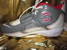 Ohio State Buckeyes OSU Nike Team Code D Wide Football Shoes Cleats Mens 10 NEW