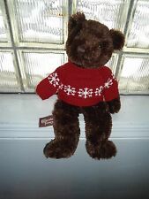 Chocolate Cake Cheesecake Factory BROWN Bear Plush Stuffed Animal 30th Lovey Toy