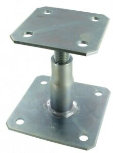 SIMPSON STRONG-TIE APB100/150 ADJUSTABLE ELEVATED WOODEN POST BASE TO CONCRETE