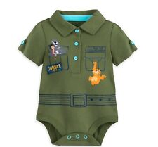 Disney Authentic Baloo Jungle Book Baby Costume /& Hat 0 3 6 9 12 18 24 Months