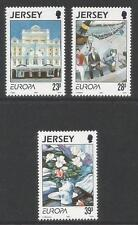 Jersey 1993 Europa/Contemporary Art-Attractive Topical (631-33) Mnh
