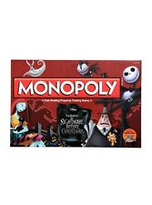 NIGHTMARE BEFORE CHRISTMAS EXCLUSIVE COLLECTORS EDITION MONOPOLY BOARD GAME NEW