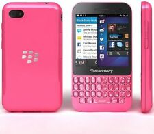"New Imported BlackBerry Q5 8GB 2GB 3.1"" 5MP 2MP Pink"