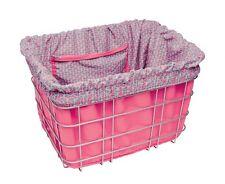 Electra Baskit Liner Pink/Triangle Inlay für Fahrradkorb, Wende Tasche Beute Bag