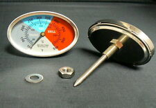 """2 7/8"""" BBQ CHARCOAL GRILL GAS ELECTRIC SMOKER THERMOMETER GAUGE THERMOSTAT BPT-1"""