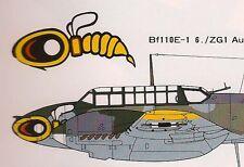 MESSERSCHMITT Bf 110 Luftwaffe Me 110  Famous Airplanes Of The World FAOW No 41