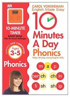 (Good)-10 Minutes A Day Phonics Ages 3-5 Key Stage 1 (Made Easy Workbooks) (Pape
