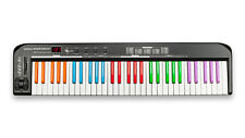 61 Key Keyboard USB  MIDI Controller, New Boxed with Coloured (Black) Keys