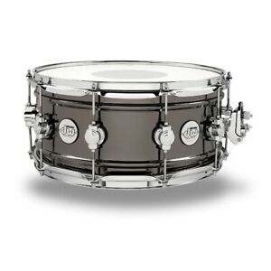 DW DDSD6514BNCR 6.5x14 Design Series Snare - Black Nickel Over Brass