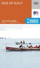 Isles of Scilly 101 Explorer Map Ordnance Survey With Digital Download
