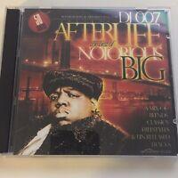 DJ 007 The Afterlfife Best of Notorious BIG NYC Hip Hop Mixtape Mix CD Rap Promo