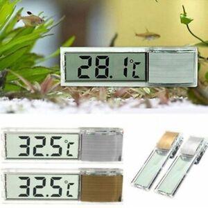 Aquarium Thermometer Fish Tank Digital Display Temperature Meter Detector Gauge