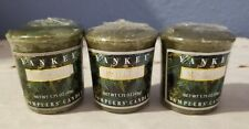 (3) Yankee Candle Mistletoe Samplers Christmas Holiday Scent