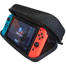 Nintendo Switch Carrying Case Stand, 19 Game Card Holder, Large Accessory Pouch
