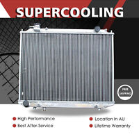 Aluminum Radiator For MAZDA B2500 B2600 FORD Courier Ranger PD PE PG PH AT 96-11