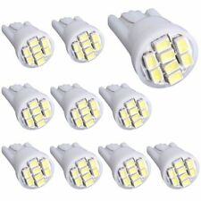 10pcs T10 White 8 SMD LED Car Side Wedge Interior Light Bulbs 1206 2825 194 W5W